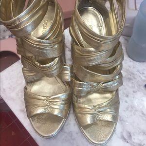 Golden Heels - used.